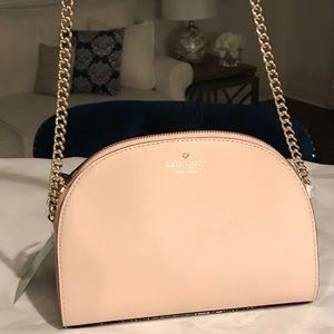 ✨SALE!✨♠️Kate Spade NWT! Blush Leather Chain Bag